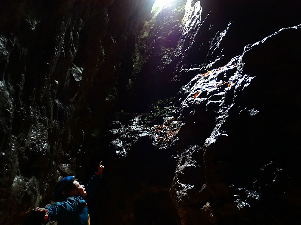 Grotte de Comblain - Abîme ©Deplancke Michael