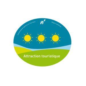 Grotte de Comblain - Logo Attraction Touristique 3 Soleils